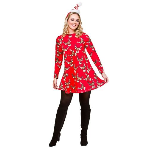 Christmas Dress - Reindeer Christmas Fancy Dress